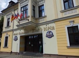 Hotel Zlatý Kříž, Теплице