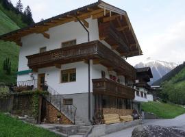 Ferienwohnung SEPP, Mayrhofen