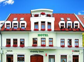 Hotel Vinarsky Dom, Pezinok