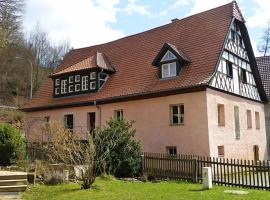 Vintage Apartment in Weissenbrunn near Franconian Forest