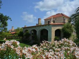 Villa Arianna, Prinés