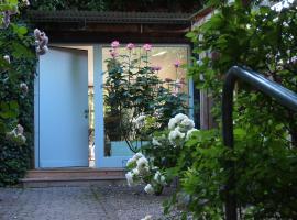 greenhouse zentral im grünen