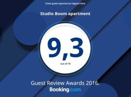 Studio Boom apartment,