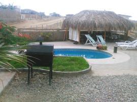 Espaciosa casa frente al Mar Punta Sal, Los Órganos