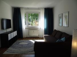 Schöne 2-Zimmer-Parterre Wohnung WF