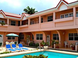 Beach Cross Villa Apartments, Gros Islet