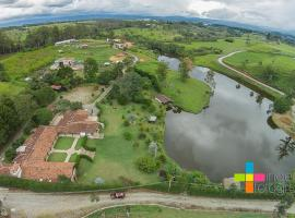 Lake house at Parcelacion San Francisco, Popayan