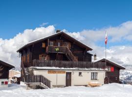 Gruppenhaus im Walliser Alpstyle, Rosswald
