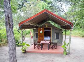 Tshima Bush Camp, Komane