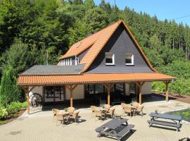 Luxurious Villa in Schutzbach with garden offering mountain views