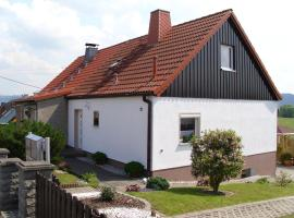 Haus am Wald in Possneck/Thuringen