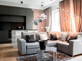 Platinum Apartment by PLA, Krakau