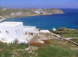 Beachfront Villa Amazing Views Mykonos, Kalo Livadi