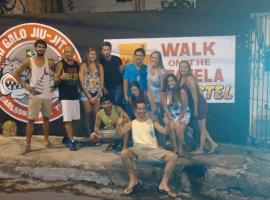 Walk on the Favela Hostel,