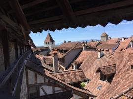 BnB Zimmer EG Bauernhaus Burg, Murten