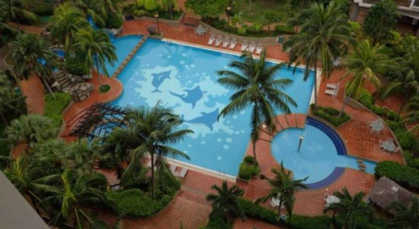 Swimming pool Mahkota Hotel 1 Room Studio Apartment