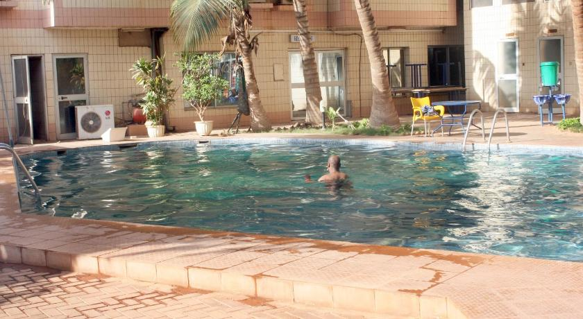 Swimmingpool Pacific Hotel Ouagadougou