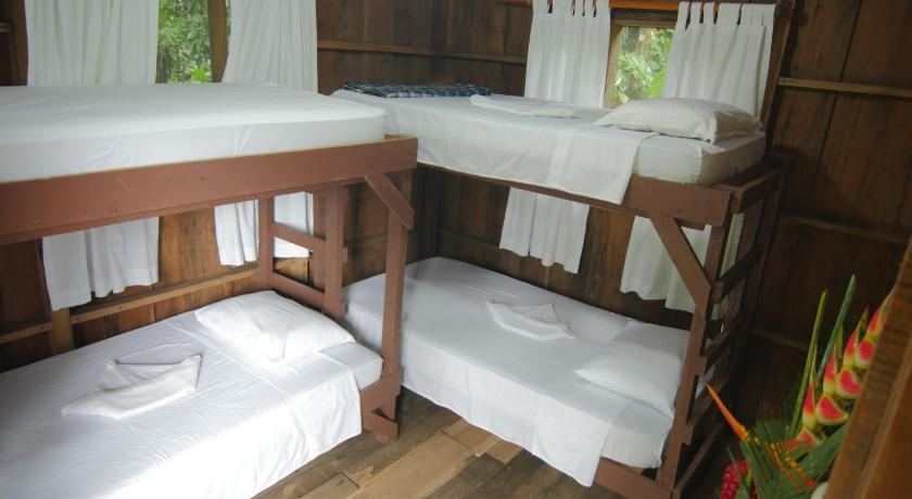 Double Room with Shared Bathroom - Bed Rios Tropicales Lodge