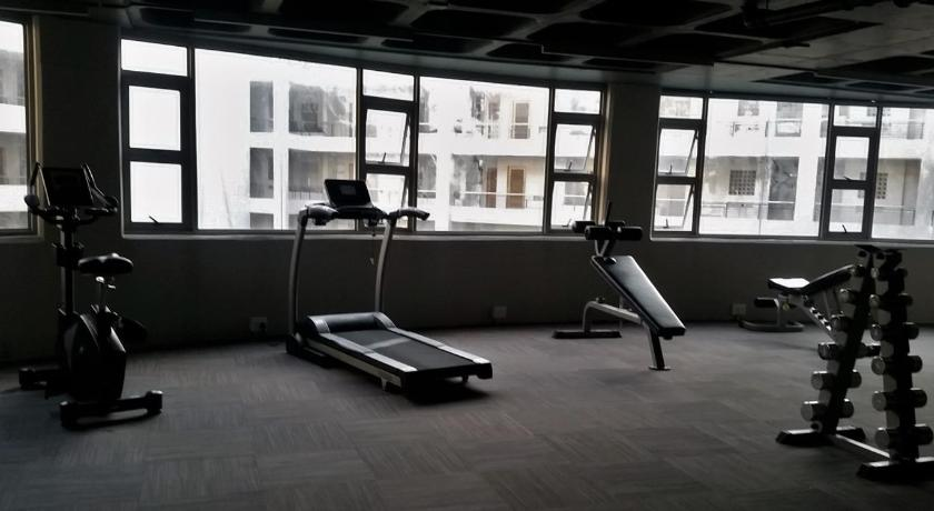 gimnasio Ashton Apartments Central Park
