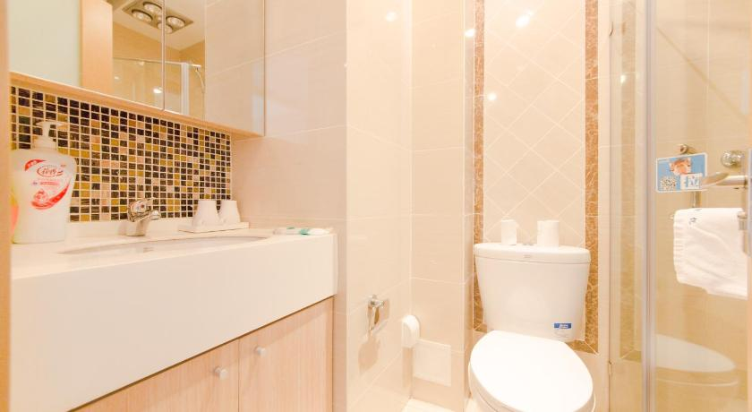 Bathroom Da Lian Shan Yue Sea View Apartment