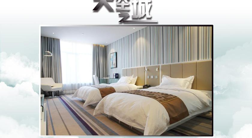 Deluxe Twin Room Christine Hotel Baotou