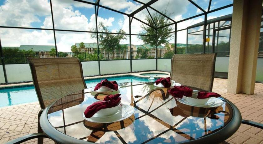 Pool Windsor Hills Resort Five Bedroom House with Private Pool W58