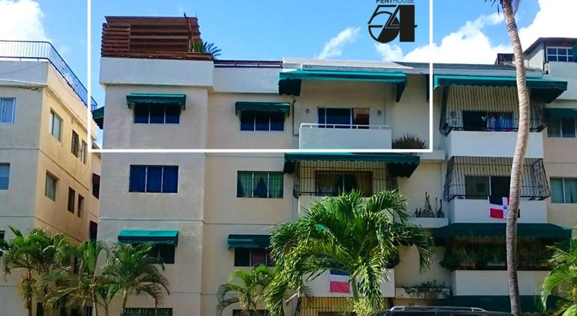 Penthouse-Appartement - Eingang Penthouse 54 Santo Domingo 4BR