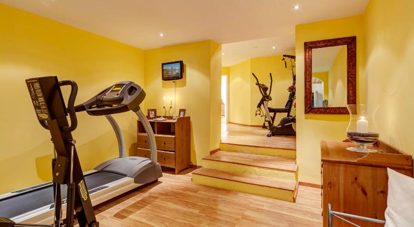Fitness center Hotel Beau Rivage
