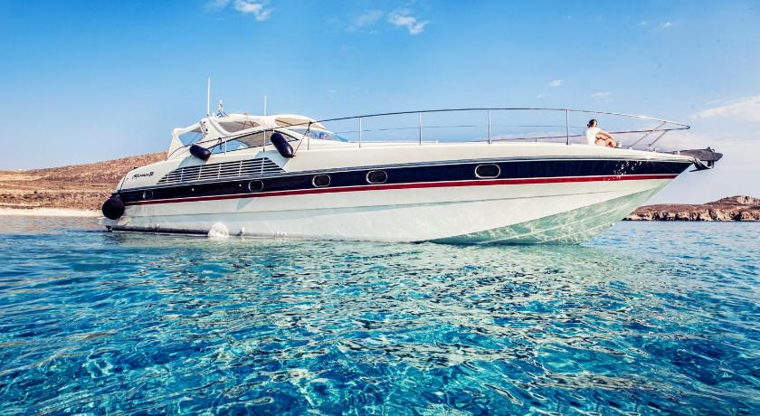 Mobile Home - Swimming pool Mykonos Yacht Alfamarine 50ft