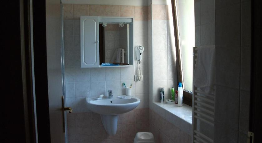 Double Room - Bathroom Hotel alle Rose