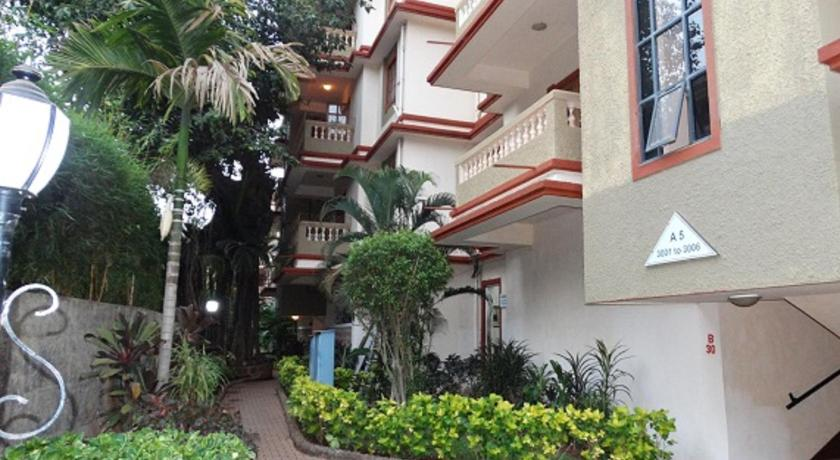 Two-Bedroom Apartment - Exterior view Ourgoaholidays 2Bhk first floor near the beach