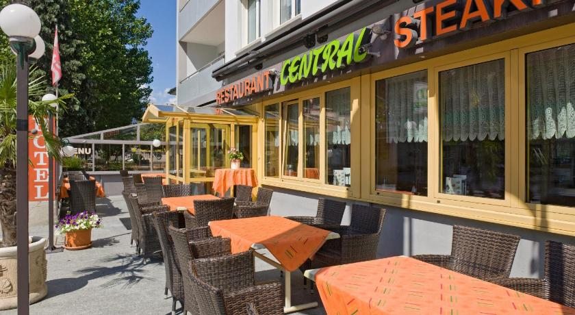 Altan/terrasse Hotel Steakhouse Central
