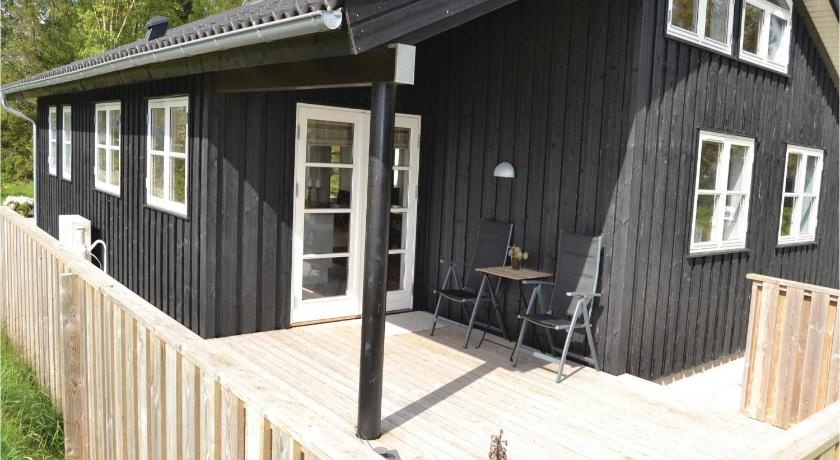 Udvendig Three-Bedroom Holiday home with a Fireplace in Frederikshavn
