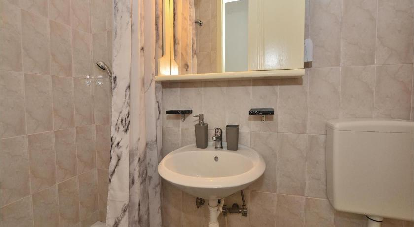 Bathroom Studio Apartment in Piran