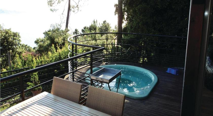Swimming pool Holiday Home Theoule sur Mer with Sea View 06