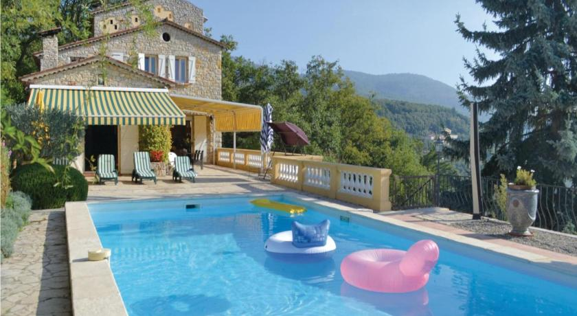 Piscina Holiday home Cabris with Mountain View 368
