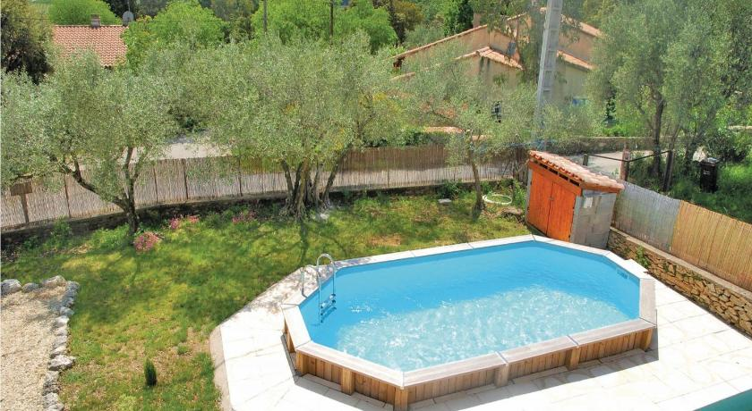 Schwimmbad Holiday home Vallabrix with Outdoor Swimming Pool 405
