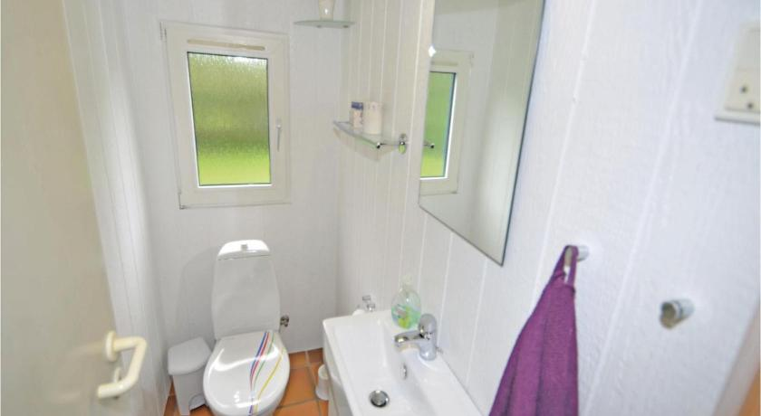 Bathroom Holiday home Knebel 29 with Sauna