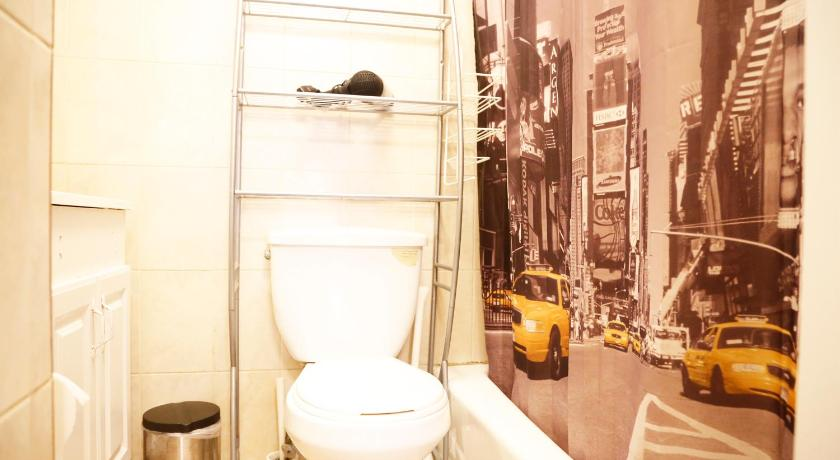 Bathroom Times Square West One Bedroom Apartment