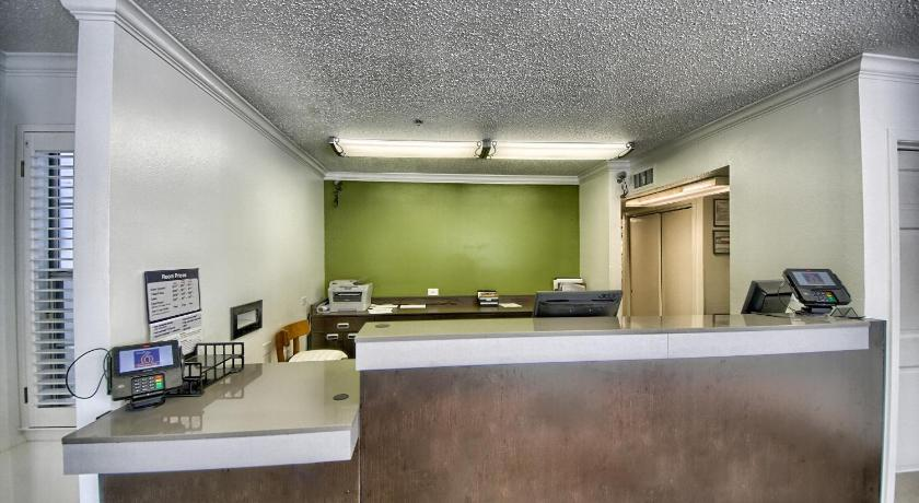 大廳 Studio 6 San Antonio - Medical Center