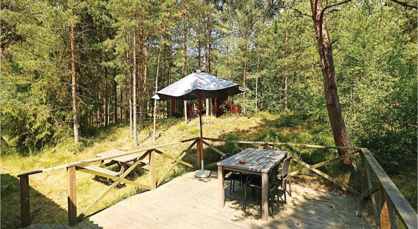 حديقة Holiday home Hakkebakkeskogen Nexø IV