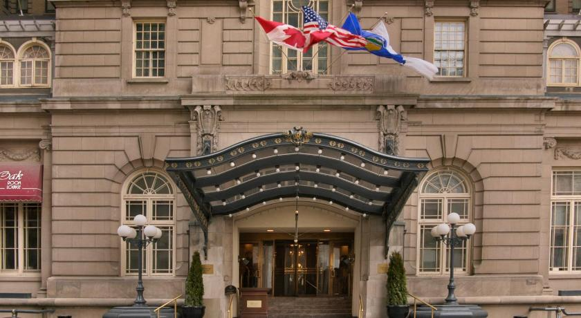 Entrance The Fairmont Palliser Hotel