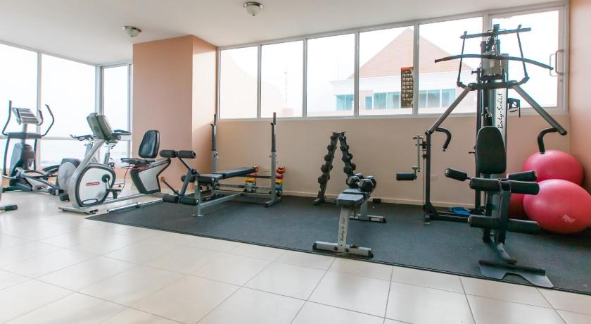 fitness centrum Luxury Apartments Avenida Balboa