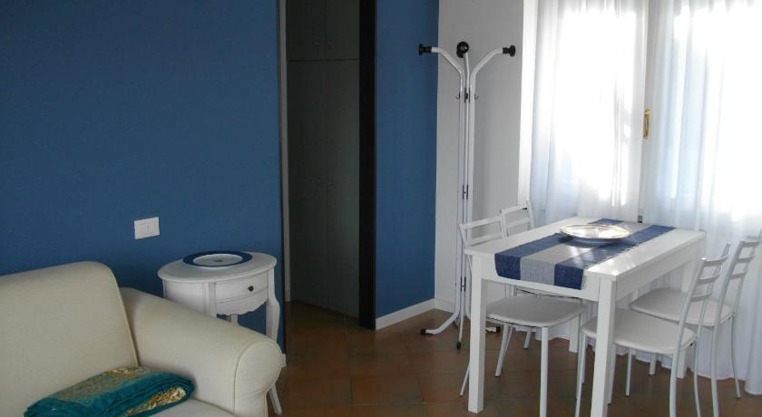 Apartament cu terasă Blue Apartment Stresa