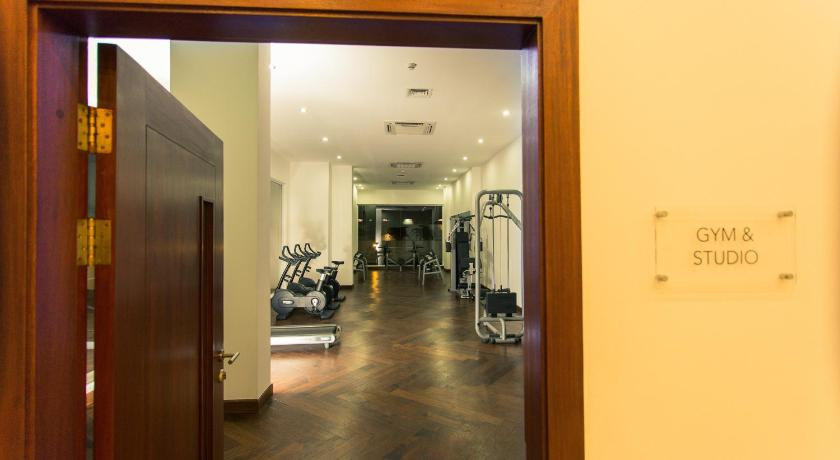 Fitness center Accra Luxury Apartments