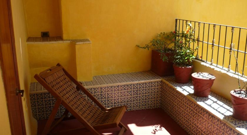 Balcony/terrace Hotel Boutique Casona de la China Poblana - Adults Only