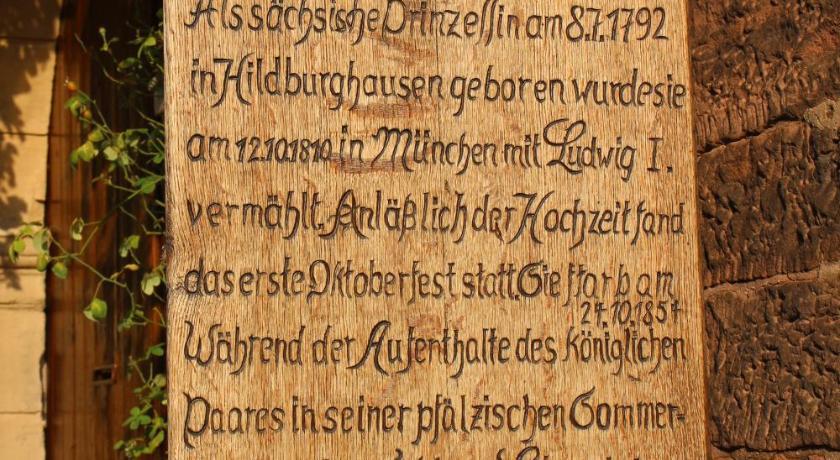 Ferienwohnung Liesel Rhodt Unter Rietburg Bedandbreakfasteu