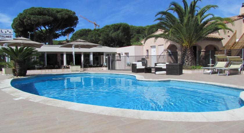 Swimming pool Hotel Les Santolines