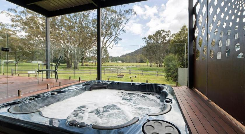 Balkong/terasse Hemley House Luxury in Halls Gap