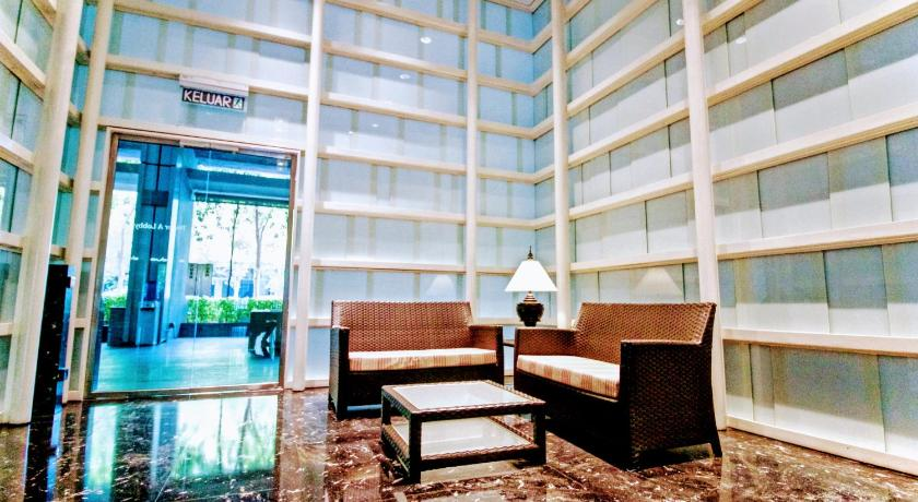 Lobby Sweet Dream KLCC View Apartment